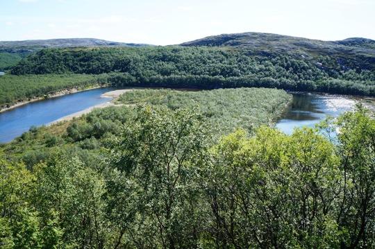 Река Печенга